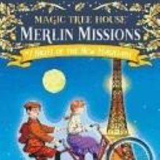 Libros: MAGIC TREE HOUSE 35. NIGHT OF THE NEW MAGICIANS. Lote 288645743