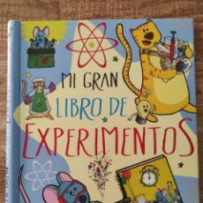 Libros: MI GRAN LIBRO DE EXPERIMENTOS. ED. SUSAETA. Lote 289297328