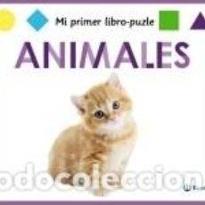 Libros: MI PRIMER LIBRO-PUZLE. ANIMALES. Lote 289336633