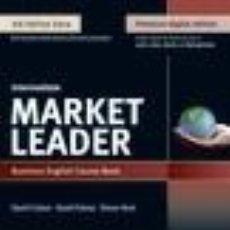 Libros: MARKET LEADER 3E EXTRA INTERMEDIATE COURSE BOOK, EBOOK, QR, MEL & DVD PACK. Lote 289346468