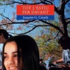 Libros: TOT LESTIU PER DAVANT. Lote 289468203
