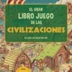 Libros: EL GRAN LIBRO JUEGO DE LAS CIVILIZACIONES. Lote 290047688