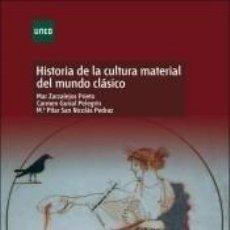 Libros: HISTORIA DE LA CULTURA MATERIAL DEL MUNDO CLÁSICO. Lote 290062163