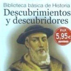 Libros: DESCUBRIMIENTOS Y DESCUBRIDORES. Lote 293810488