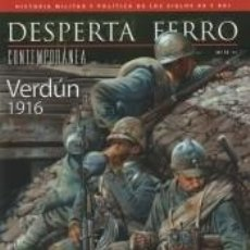 Libros: REVISTA DESPERTA FERRO. CONTEMPORÁNEA, Nº 13 , AÑO 2015. VERDÚN, 1916. Lote 293810598