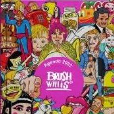 Libros: AGENDA ANUAL SEMANA VISTA 2022 BRUSH WILLIS. Lote 294222428