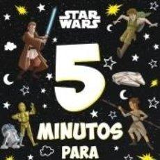 Libros: STAR WARS. 5 MINUTOS PARA SOÑAR. Lote 294223418