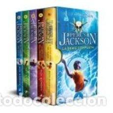 Libros: PACK PERCY JACKSON Y LOS DIOSES DEL OLIMPO - LA SERIE COMPLETA. Lote 294868058