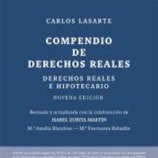 Libros: COMPENDIO DE DERECHOS REALES. Lote 295004458