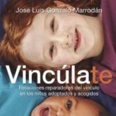 Libros: VINCÚLATE. RELACIONES REPARADORAS DEL VÍNCULO EN LOS NIÑOS ADOPTADOS Y ACOGIDOS. Lote 296003173