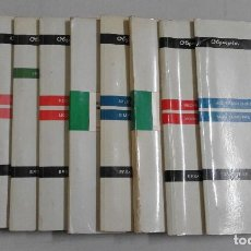 Livres: DIEZ CARPETAS DE MANUALES TÉCNICOS Y DESPIECE DE MAQUINAS OLYMPIA. Lote 86205976