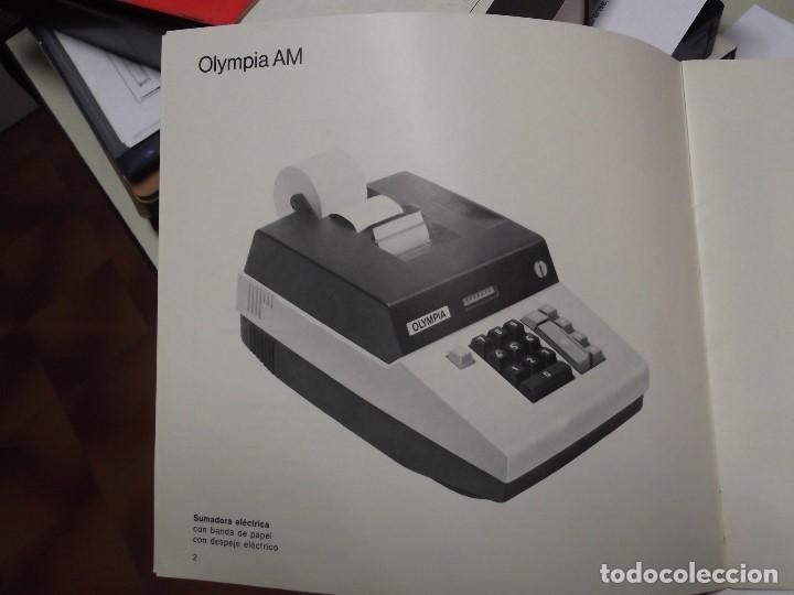Libros: MANUAL DE INSTRUCCIONES DE MAQUINA SUMADORA ELECTRICA OLYMPIA AM - Foto 2 - 124677087