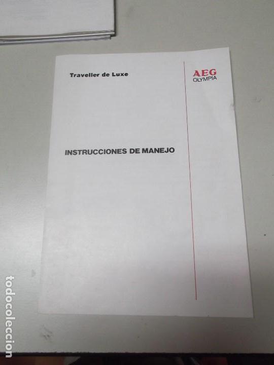 MANUAL DE INSTRUCCIONES DE MAQUINA DE ESCRIBIR OLYMPIA MODELO TRAVELLER (Libros Nuevos - Ocio - Informática - Ofimática)