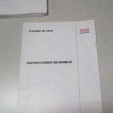 Libros: MANUAL DE INSTRUCCIONES DE MAQUINA DE ESCRIBIR OLYMPIA MODELO TRAVELLER. Lote 124677259