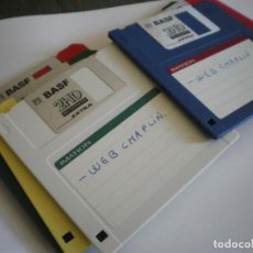 Libros: 7 DISKETTES 3.5 FORMATEADOS Y USADOS. Lote 205246083