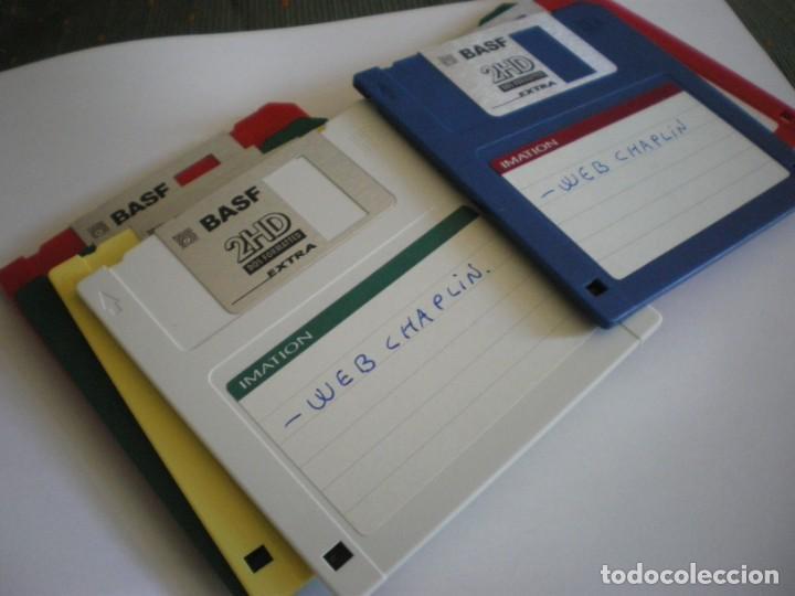 Libros: 7 DISKETTES 3.5 FORMATEADOS Y USADOS - Foto 7 - 205246083