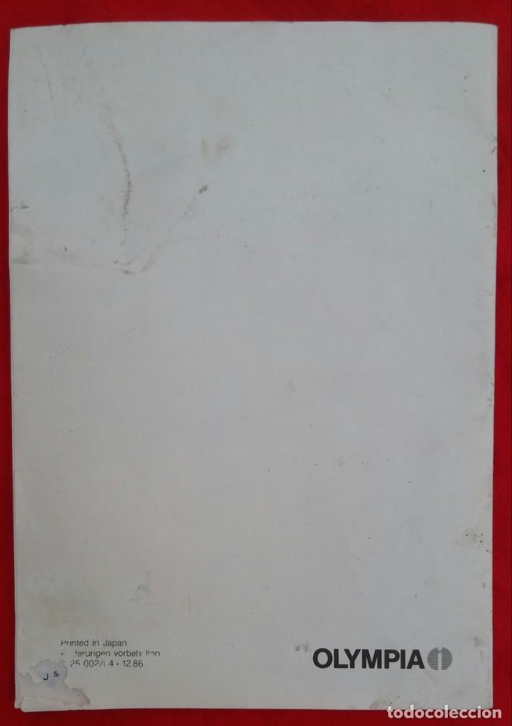 Libros: OLYMPIA CPD 3212 A - LIBRO DE INSTRUCCIÓNES Y MANEJO - 30 PÁG. - 21 cm x 15 cm - Foto 4 - 212589612