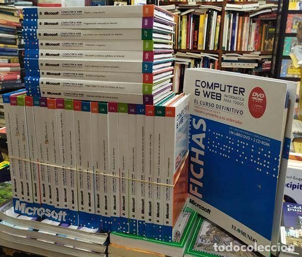 COMPUTER & WEB. INFORMÁTICA PARA TODOS (29 LIBRO CDS + CLASIFICADOR DE FICHAS) A-INFOR-240 (Libros Nuevos - Ocio - Informática - Ofimática)