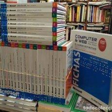 Libros: COMPUTER & WEB. INFORMÁTICA PARA TODOS (29 LIBRO CDS + CLASIFICADOR DE FICHAS) A-INFOR-240. Lote 236701855