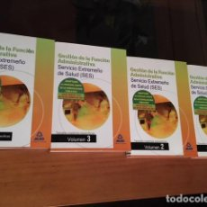 Libros: GESTION DE LA FUNCION ADMINISTRATIVA - SES OPOSICIONES - MAD. Lote 73434351