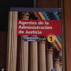 Libros: AGENTES DE LA ADMINISTRACION DE JUSTICIA - OPOSICIONES - MAD. Lote 73434383