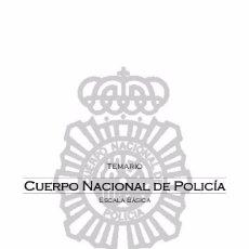 Libri: TEMARIO CNP CUERPO NACIONAL DE POLICÍA ACTUALIZADO 2017/18 TODOS LOS TEMAS PDF. Lote 101754679