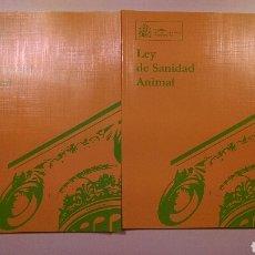 Libros: LEY DE SANIDAD ANIMAL TOMOS I Y II. Lote 101775264