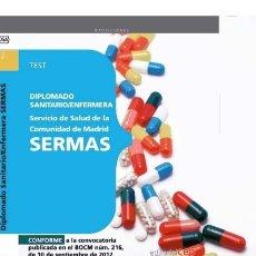 Libros: DIPLOMADO SANITARIO/ENFERMERA DEL SERVICIO DE SALUD DE LA COMUNIDAD DE MADRID. SERMAS. TEST. Lote 114774486