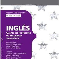 Libros: CUERPO DE MAESTROS. INGLÉS. PROGRAMACIÓN DIDÁCTICA.1ER CICLO. Lote 114774511