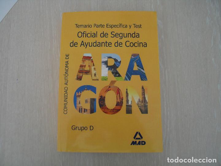 AYUDANTE DE COCINA (Libros Nuevos - Oposiciones)