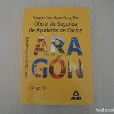 Libros: AYUDANTE DE COCINA. Lote 117098719