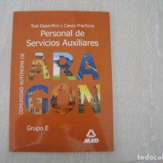 Libri: SERVICIOS AUXILIARES DGA. Lote 117099099