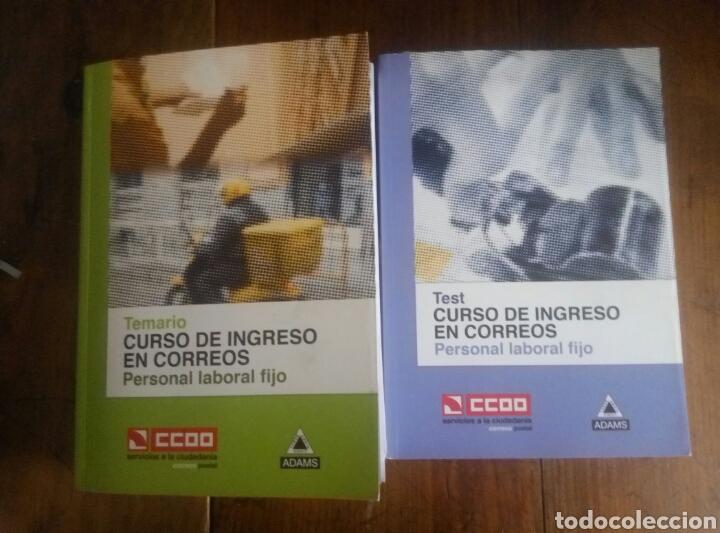 TEMARIO Y TEST OPOSICIONES CORREOS 2011 CCOO (Libros Nuevos - Oposiciones)