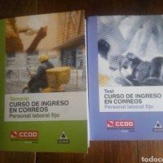 Libros: TEMARIO Y TEST OPOSICIONES CORREOS 2011 CCOO. Lote 120707587