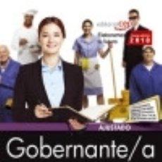 Libros: GOBERNANTE/A. DIPUTACIÓN DE TOLEDO. TEMARIO Y TEST. Lote 112512116