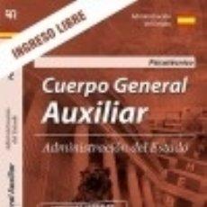 Libros: PSICOTÉCNICO. CUERPO GENERAL AUXILIAR DE LA ADMINISTRACIÓN DEL ESTADO.. Lote 121605592