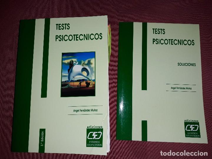 EJERCICIOS PSICOTÉCNICO Y SOLUCIONES (Libros Nuevos - Oposiciones)