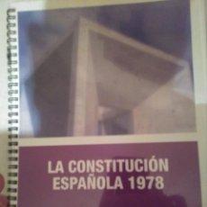 Libros: CONSTITUCIÓN ESPAÑOLA 1978 - MASTERD. Lote 132604934