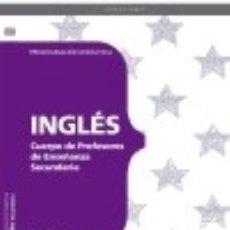 Libros: CUERPO DE PROFESORES DE ENSEÑANZA SECUNDARIA. INGLÉS. PROGRAMACIÓN DIDÁCTICA. Lote 142378385