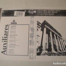Libros: BLOC-TEMARIO GRUPO D, AUXILIARES ADMINISTRACIÓN ESTADO Y SEGURIDAD SOCIAL. 1993. PARA OPOSICIONES.. Lote 159150482