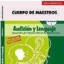 Libros: CUERPO DE MAESTROS. AUDICIÓN Y LENGUAJE. TEMARIO VOL. I. EDICIÓN PARA CANARIAS. Lote 160103772