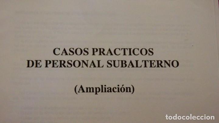 Libros: LIBRO OPOSICIONES DE TEORÍA Y CASOS PRÁCTICOS CUERPO DE SUBALTERNOS - Foto 7 - 160722882