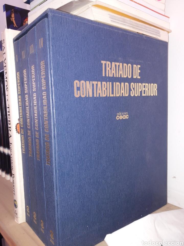 COLECCION.VOLUMENES.TRATADO DE CONTABILIDAD.COMO NUEVOS.CURSO CONTABILIDAD.OFICINA.ADMINISTRACION (Libros Nuevos - Oposiciones)