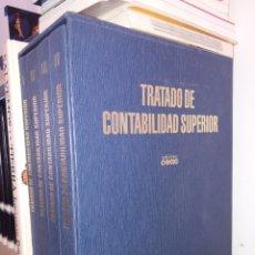 Libros: COLECCION.VOLUMENES.TRATADO DE CONTABILIDAD.COMO NUEVOS.CURSO CONTABILIDAD.OFICINA.ADMINISTRACION. Lote 162463690