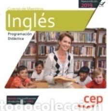 Libros: CUERPO DE MAESTROS. INGLÉS. PROGRAMACIÓN DIDÁCTICA. Lote 169652772