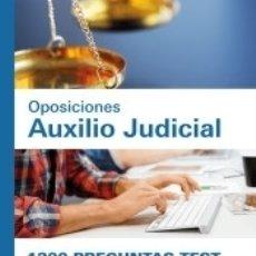 Libros: 1300 PREGUNTAS TEST. OPOSICIONES AUXILIO JUDICIAL. Lote 172986928
