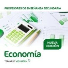 Libros: PROFESORES DE ENSEÑANZA SECUNDARIA ECONOMÍA TEMARIO VOLUMEN 3. Lote 176253412