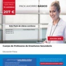 Libros: PACK AHORRO BÁSICO. CUERPO DE PROFESORES DE ENSEÑANZA SECUNDARIA. EDUCACIÓN FÍSICA. Lote 176743663