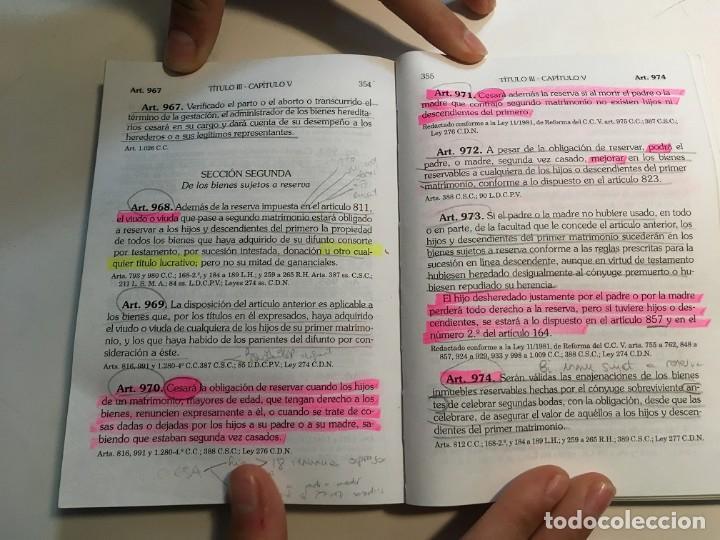 Libros: Tres libros de leyes para oposiciones, uno de ellos muy subrayado - Foto 9 - 193888492
