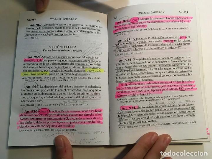 Libros: Tres libros de leyes para oposiciones, uno de ellos muy subrayado - Foto 10 - 193888492